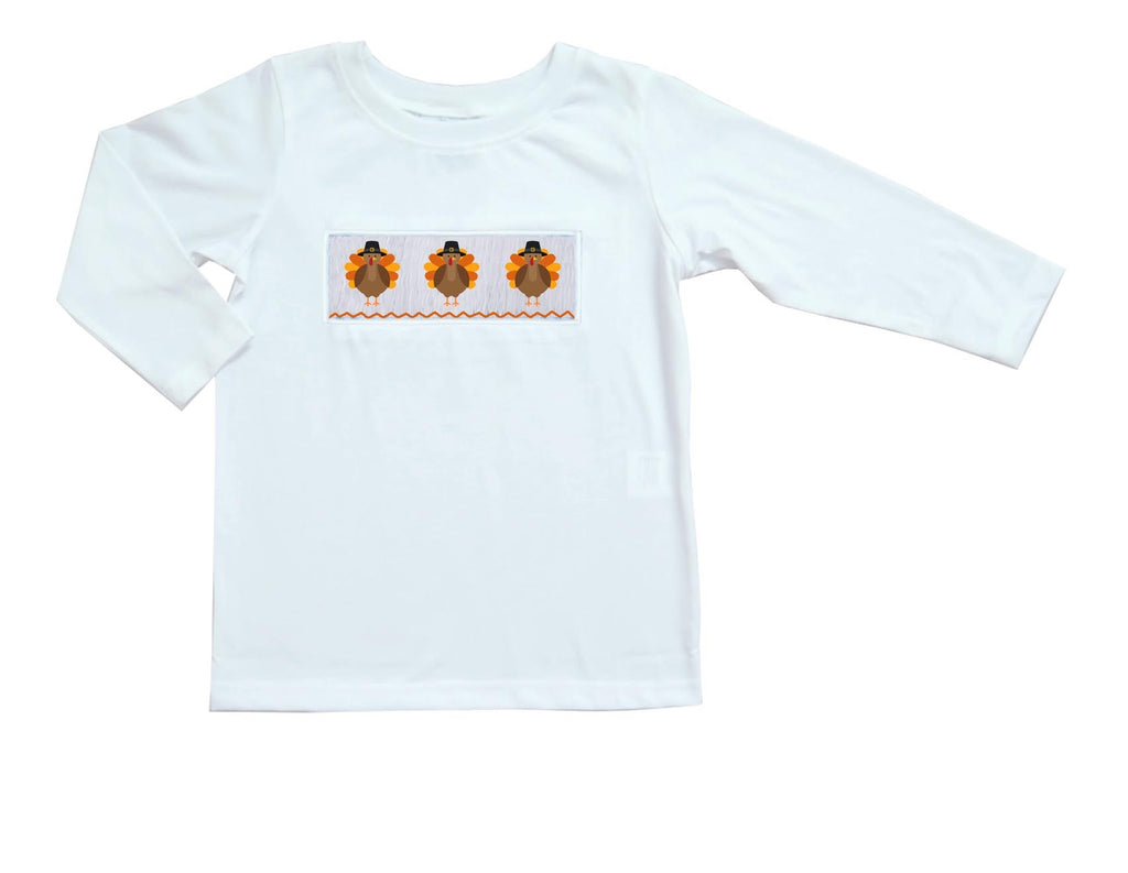 2019 Turkey Hat Boy Long Sleeve Tee