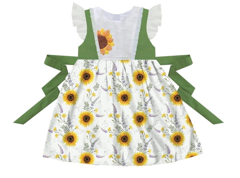 Sunflower burst Dress