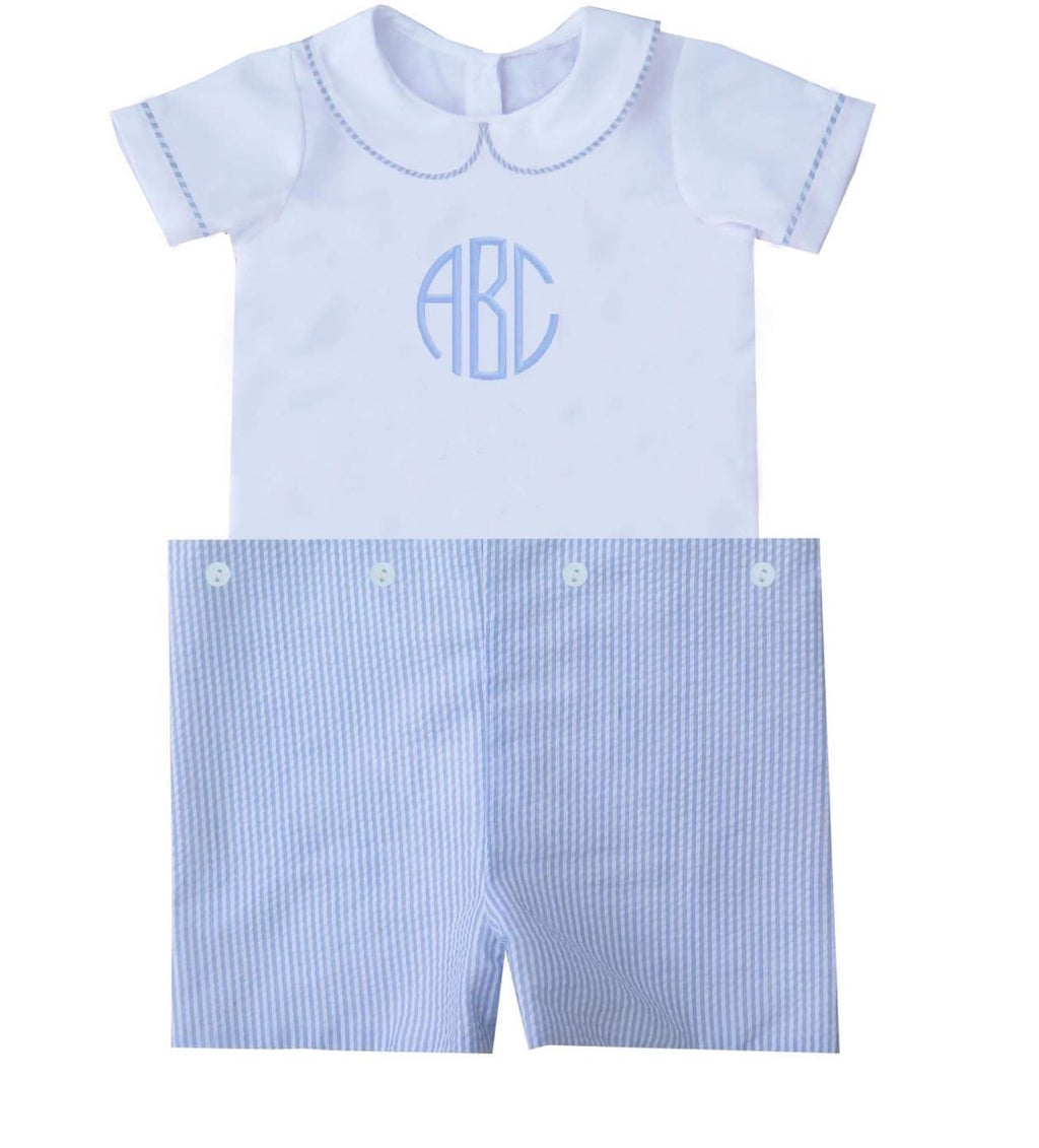 Remy Short Set Blue