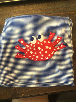 Crab Applique Trunks