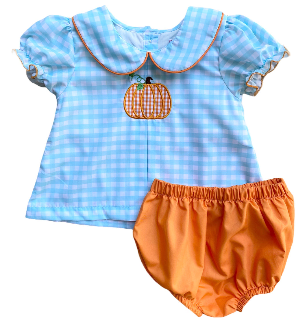 2020 Mint Pumpkin Bloomer Short Set