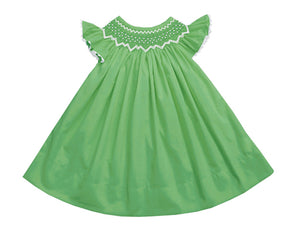 2020 Pearl Green Bishop Dress
