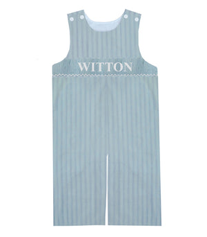 Personalized Light Blue Spring Longall