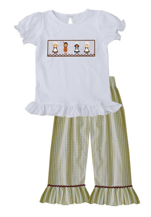2019 Pilgrim and Indian Girl Pant Set