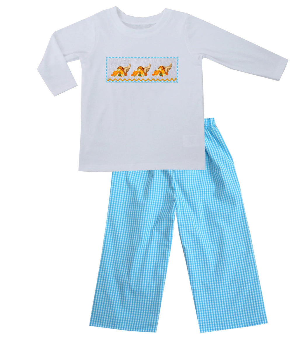2019 Cornucopia Boy Pants Set