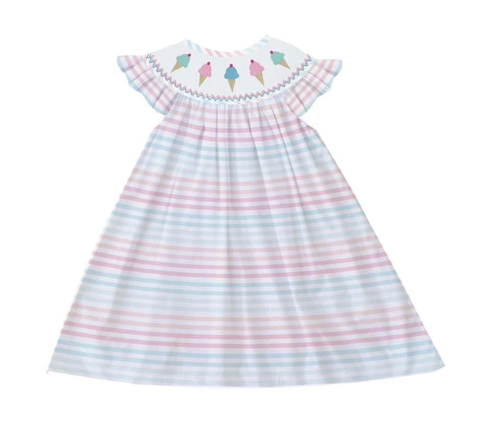 Ice cream Bishop Dress
