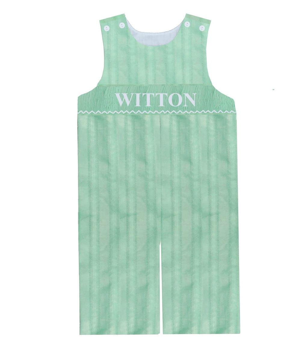 Personalized Mint Spring Longall