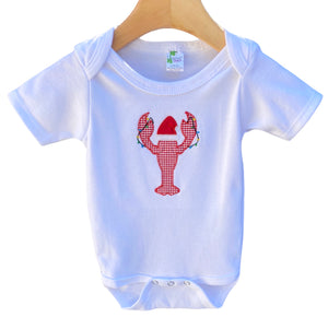 Christmas Crawfish Onesie