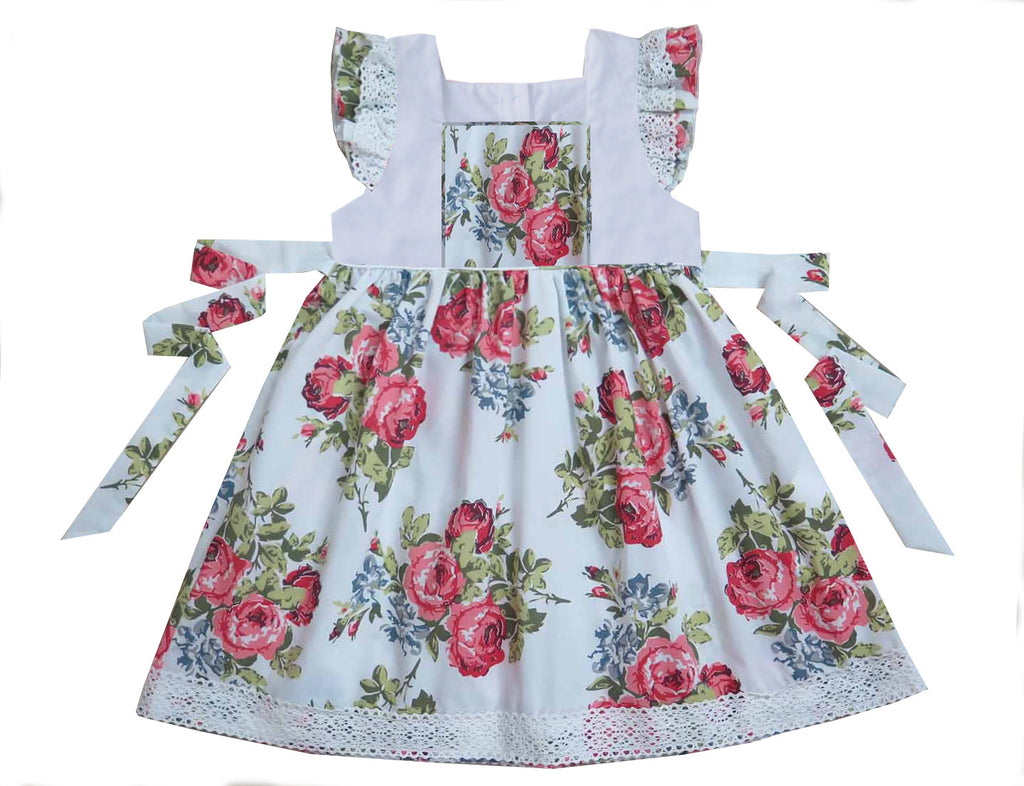 2020 Floral Pinafore Dress