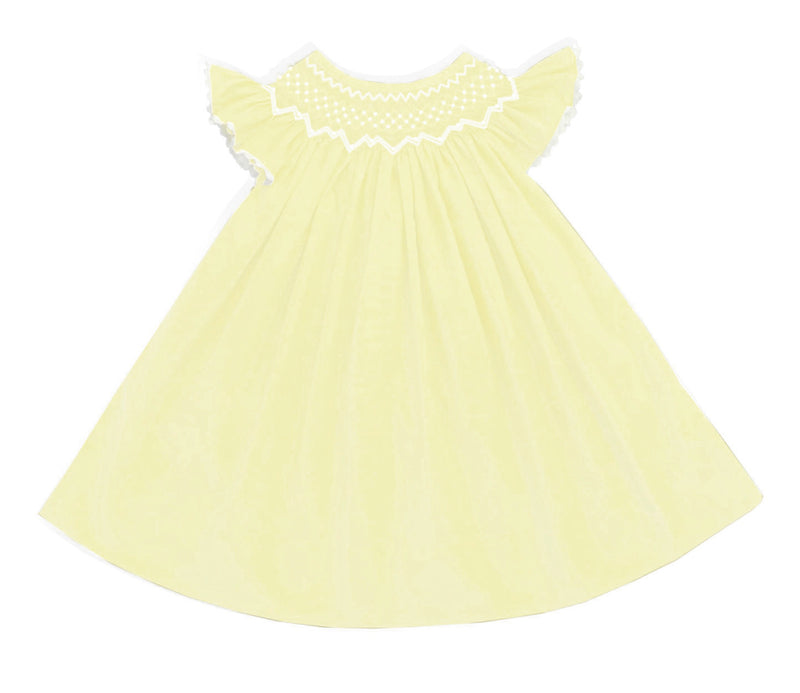 2020 Pearl Yellow Bishop Dress