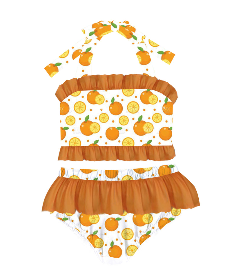 Orange You Glad Two Piece Swimsuit