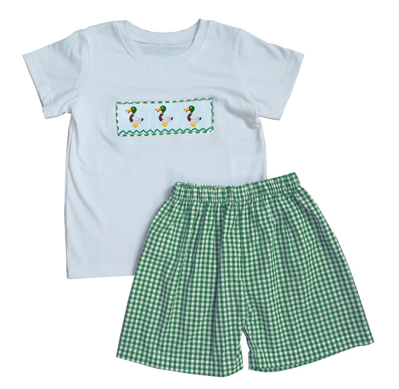 2019 Mallard Boy Short Set