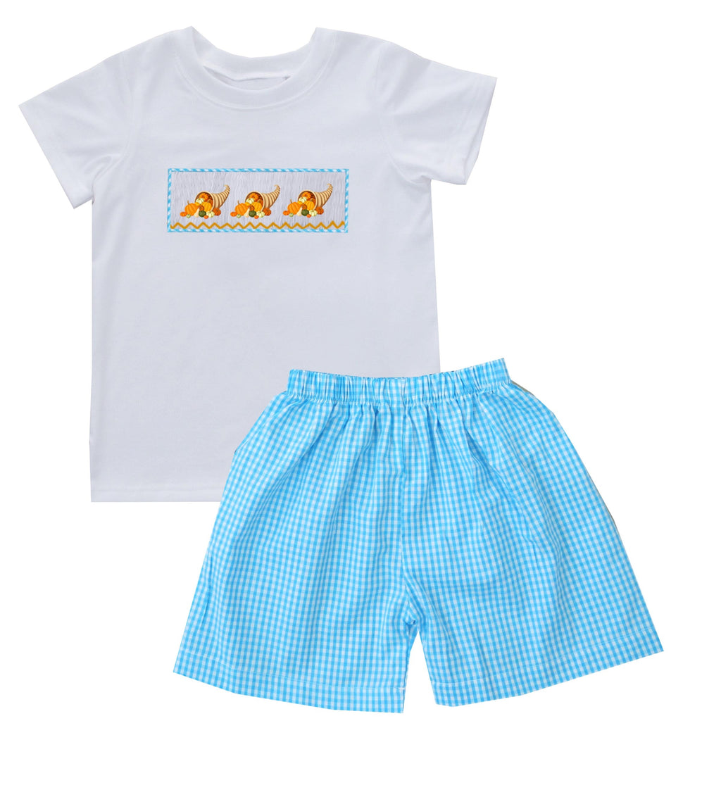 2019 Cornucopia Boy Short Set