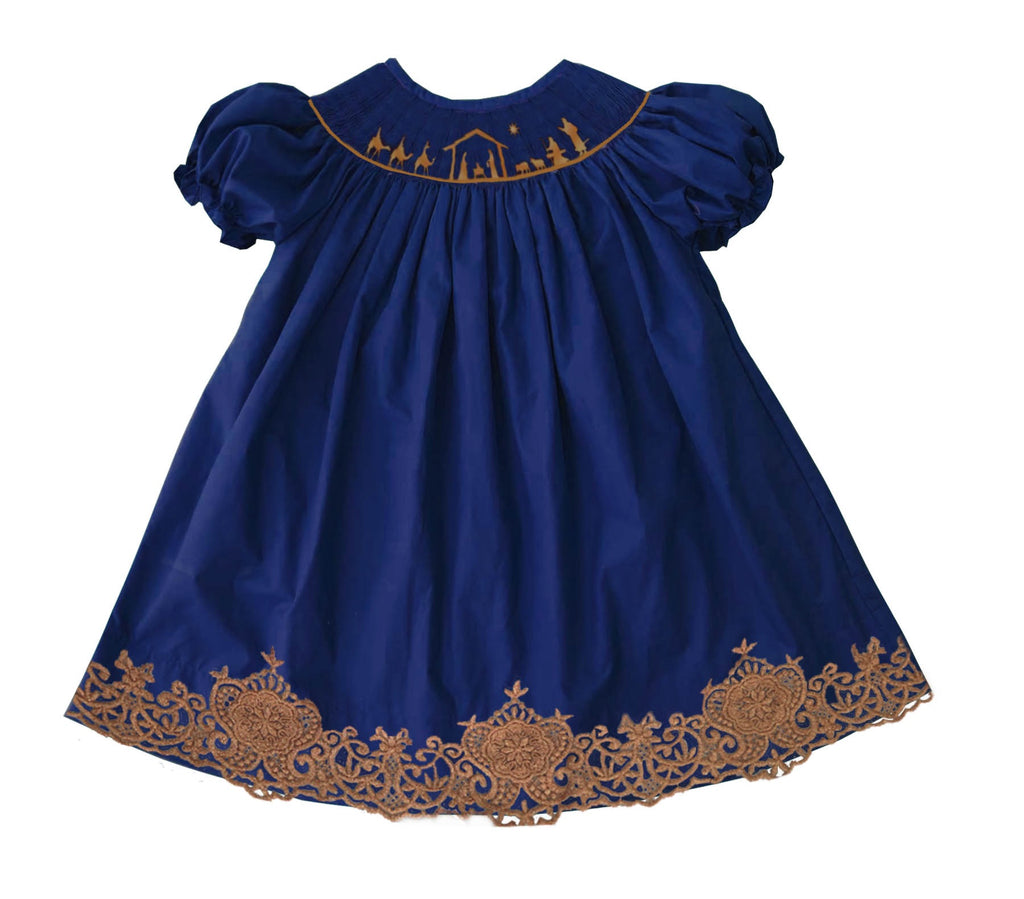 2019 Nativity Bishop Dress w Lace