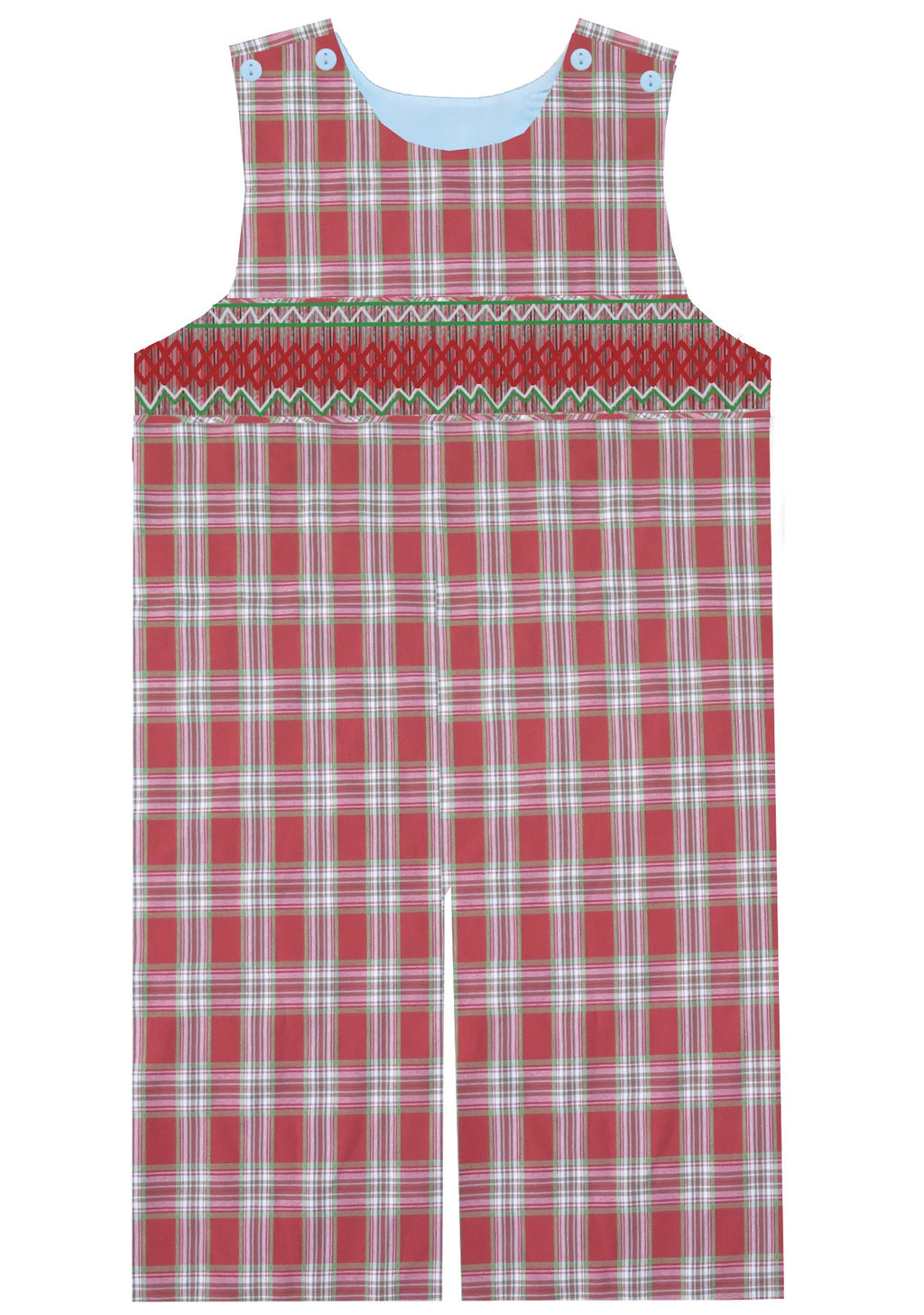2019 Plaid Christmas Longall