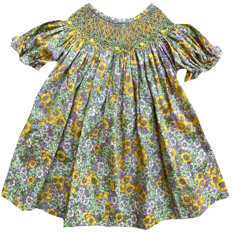 McKenzie Floral Bishop Dress