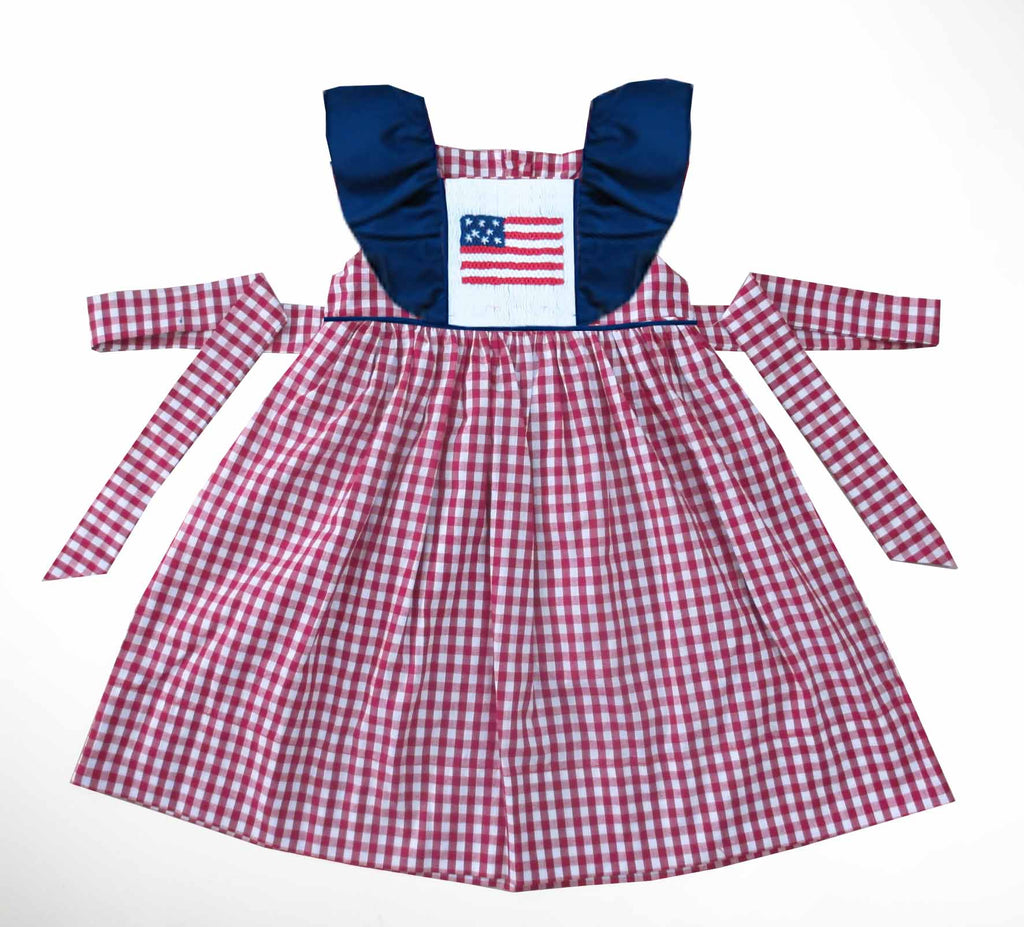 Patriotic Pinafore Dress