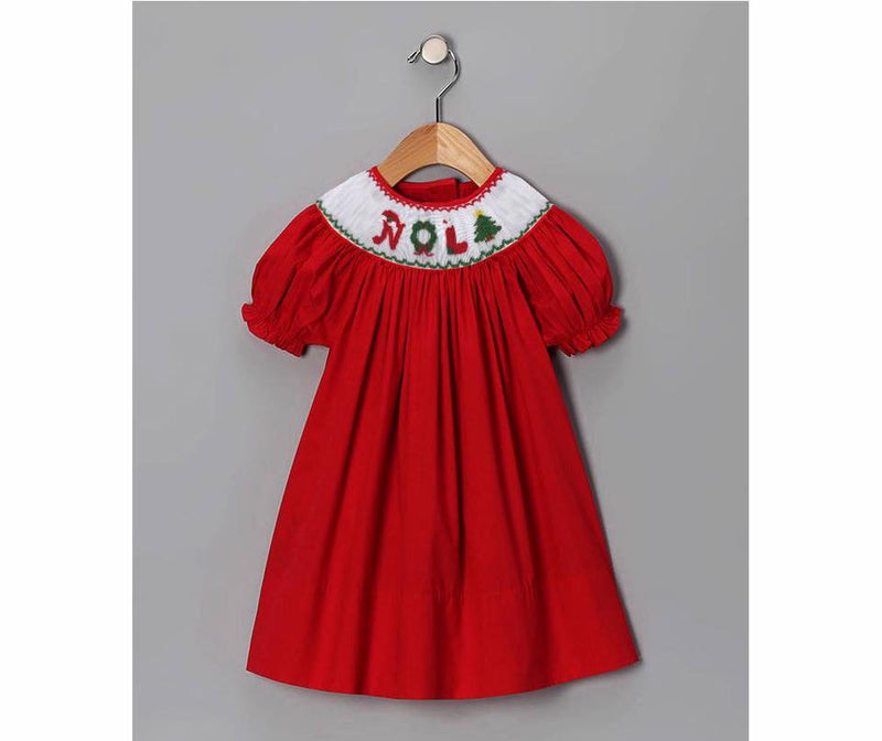 NOLA Christmas Bishop Dress