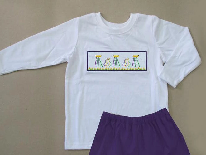 Mardi Gras Ladder Boys TShirt