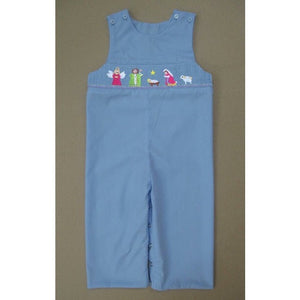 Light Blue Nativity Longall