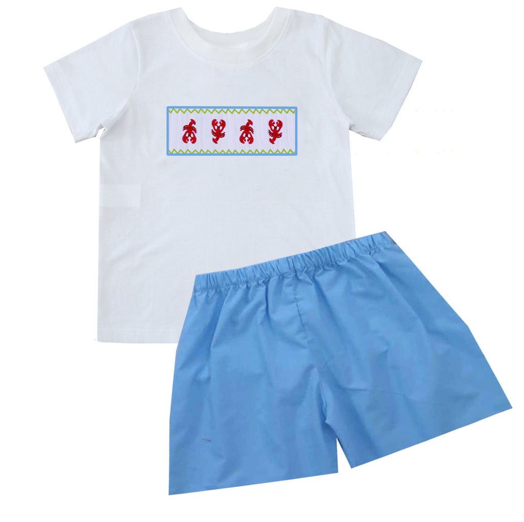 2020 Lobster Boy Tshirt Short Set