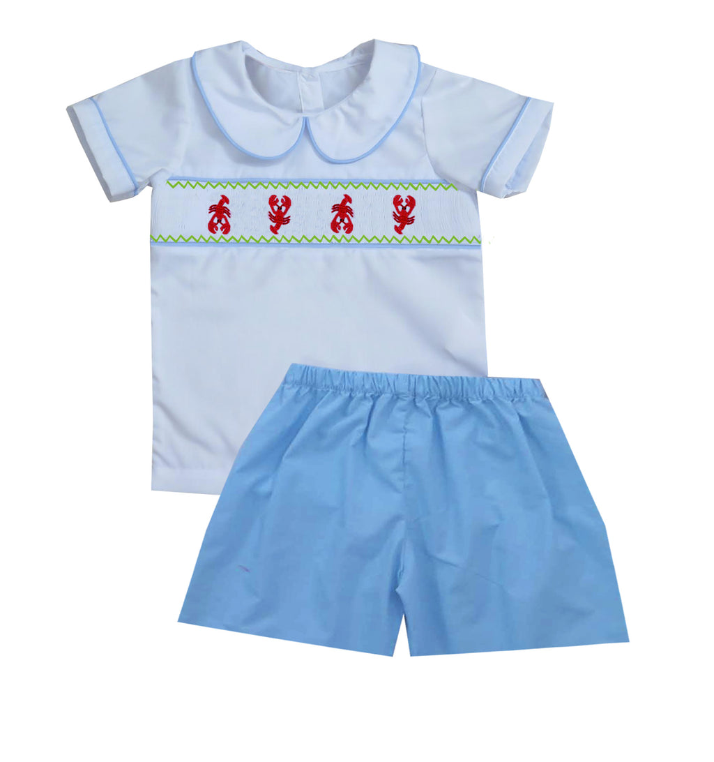 2020 Lobster Boy Collar Short Set