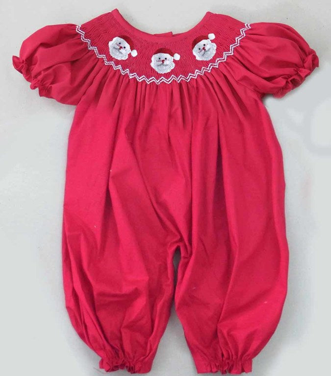 Red Face Santa Romper