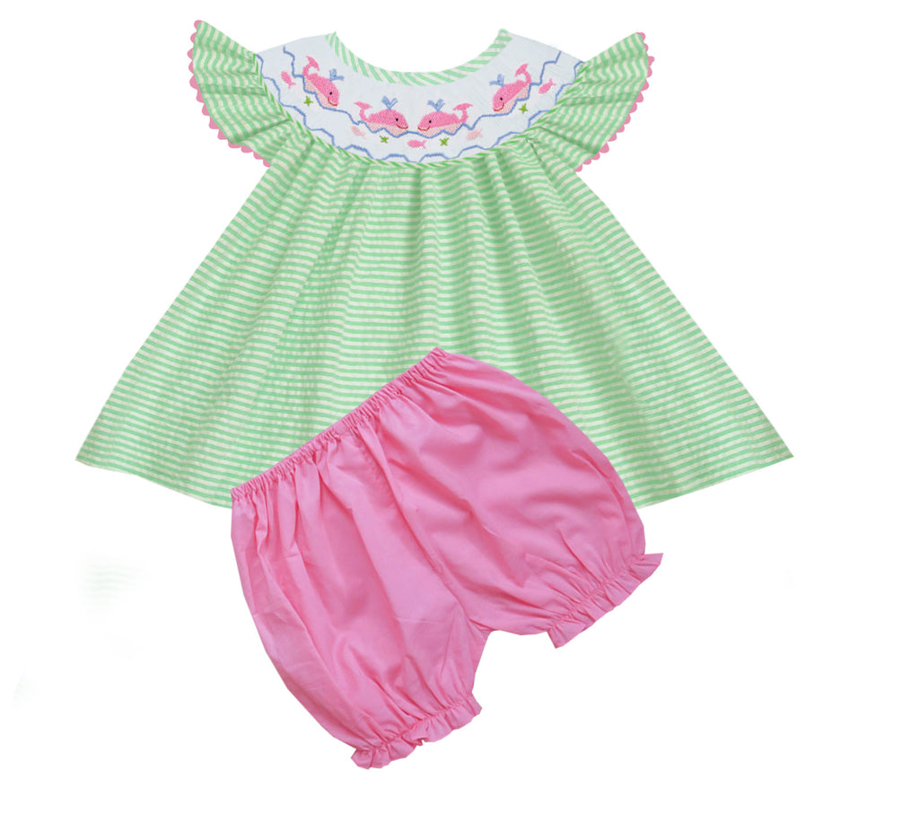 2020 Dolphin Girl Bloomer/ Short Set