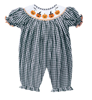 2019 Scary Pumpkin Romper