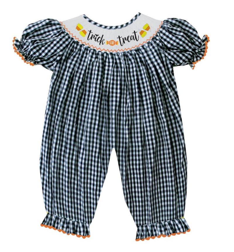 2019 Trick or Treat Girl Romper