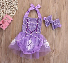 Load image into Gallery viewer, Sofia the first Romper