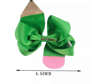 Pencil Bow Set (6 bow)