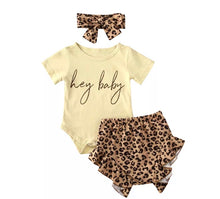 Load image into Gallery viewer, Hey Baby Outfit