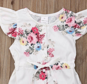 ~FLASH SALE ~ Two Floral Rompers
