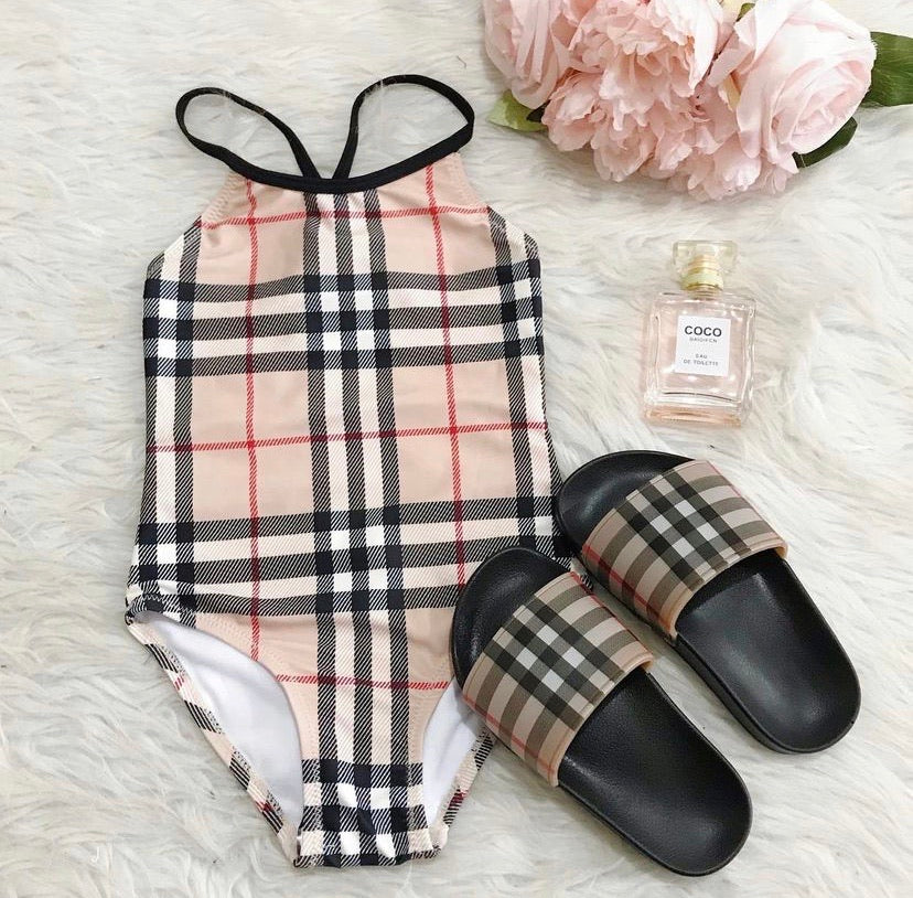 Plaid Swimsuit
