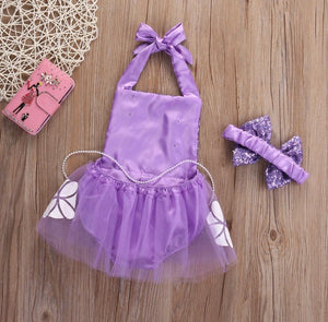 Sofia the first Romper