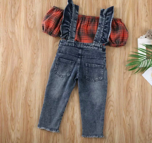 Blair Overalls Set