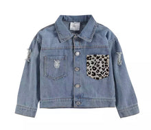 Load image into Gallery viewer, Jenny Denim Jacket