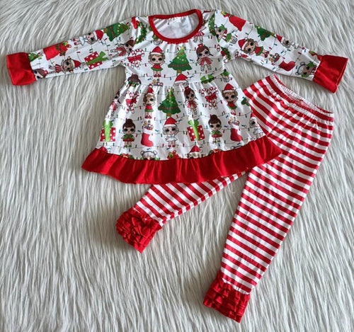 LOL DOLL Ruffle Pants Set