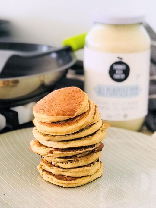 Gluten Free Honey Yogurt Pikelets