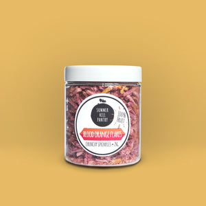 100% Fruit Sprinkles - Blood Orange 25g