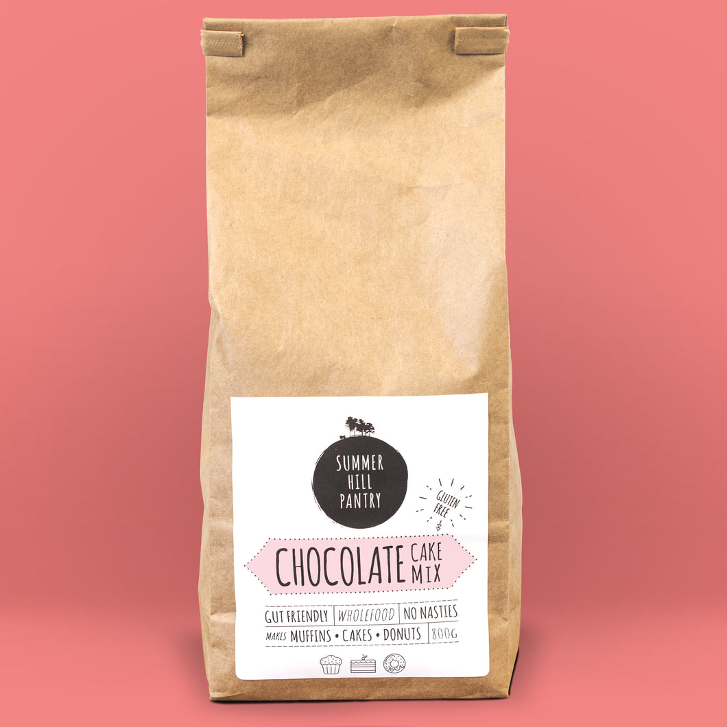 Chocolate Cake Mix 800g Bulk Eco Bag