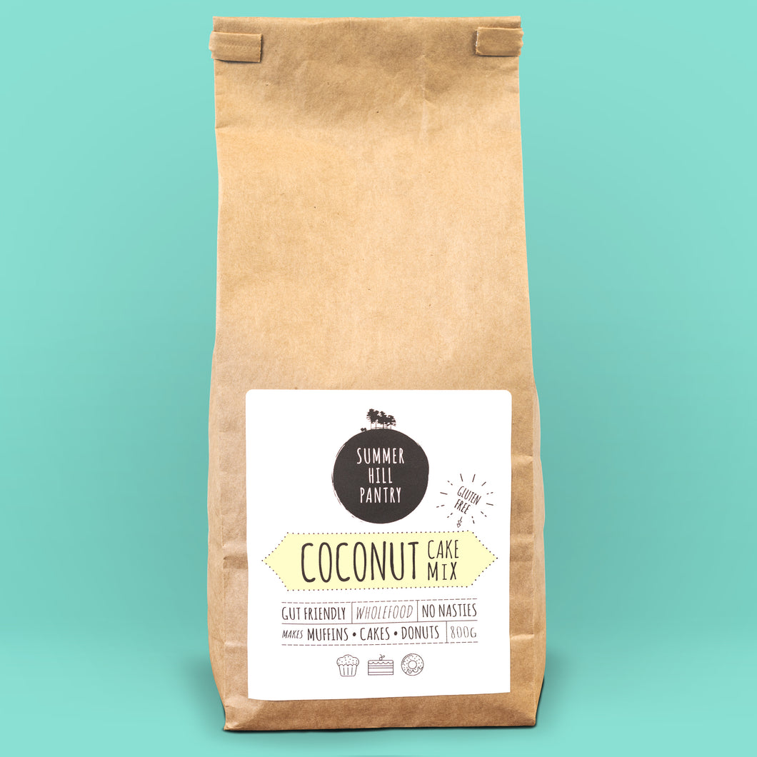 Coconut Cake Mix 800g Bulk Eco Bag