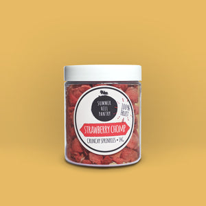 100% Fruit Sprinkles - Strawberry Chomp 20g