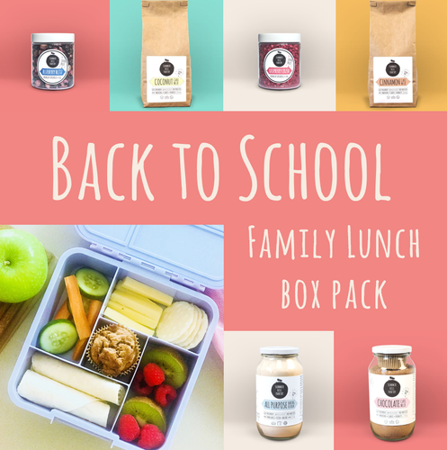 Back to School - Family Lunch Box Pack