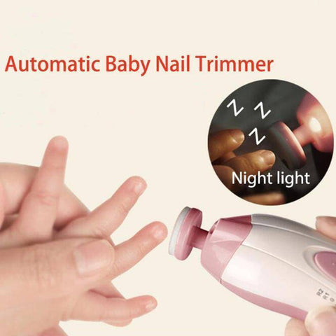 Pain-Free Electric Baby Nail Trimmer