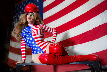 Drag Queen Leotard - American Dream