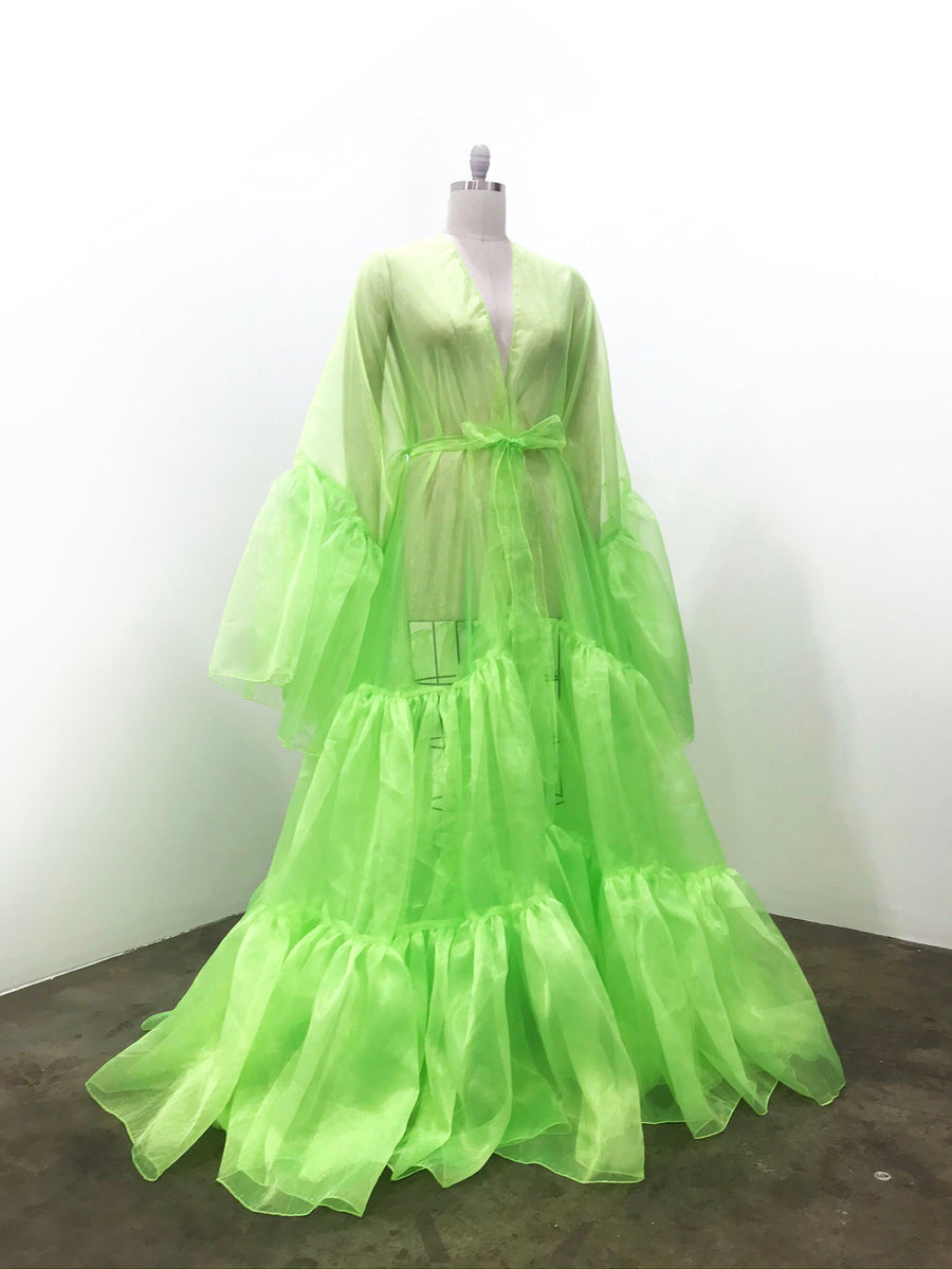 Drag Queen Organza Coat