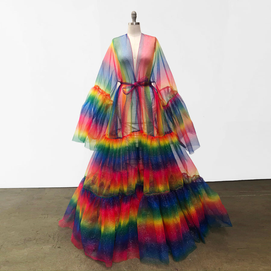 Rainbow Glitter Pride | Drag Queen Coat