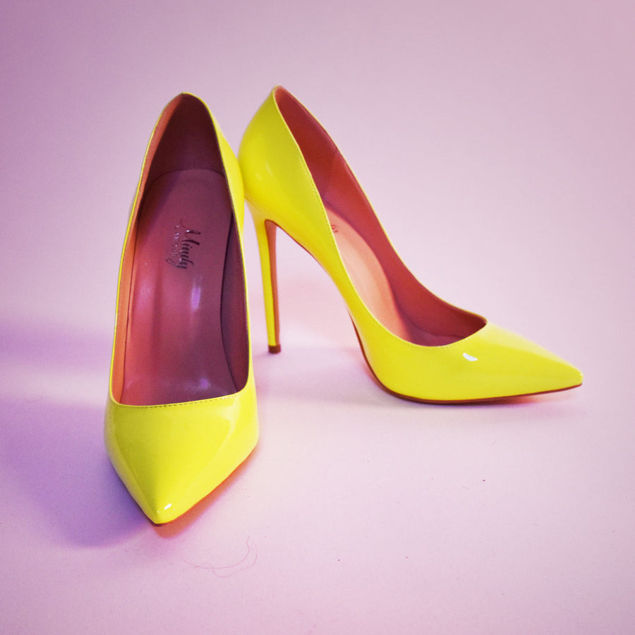 Yellow Heels for Men